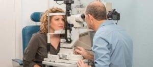 Malcolm Kofky Rose Bay optometrists performing eye tests