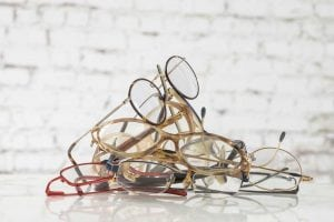 Recycle your unused glasses, you can donate it to unadvantage people